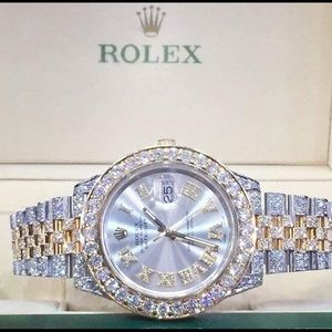 Diamond Two Tone  Rolex DateJust